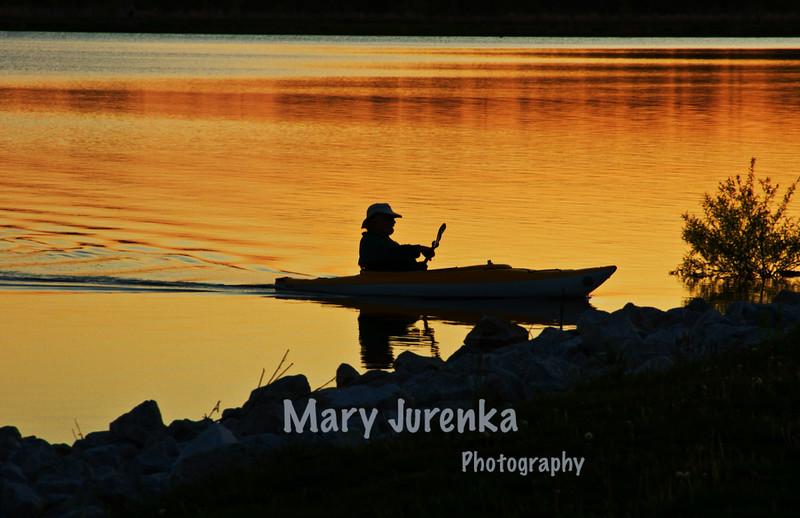 Ada Hayden Canoe Silhouette