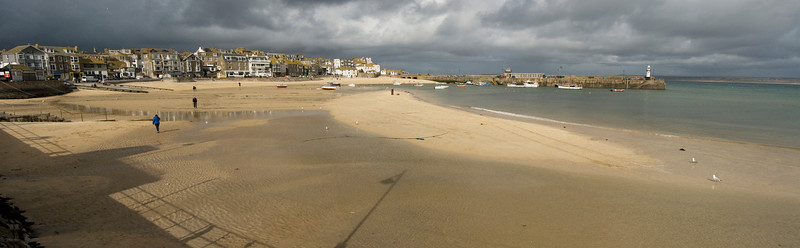 Panoramic  View of St. Ives