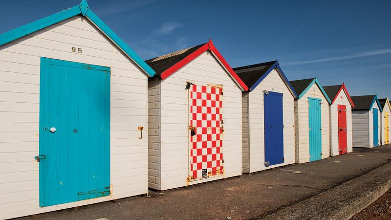 Beach Huts near Torquay