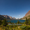 Saint Mary Lake in Glacier National Park
