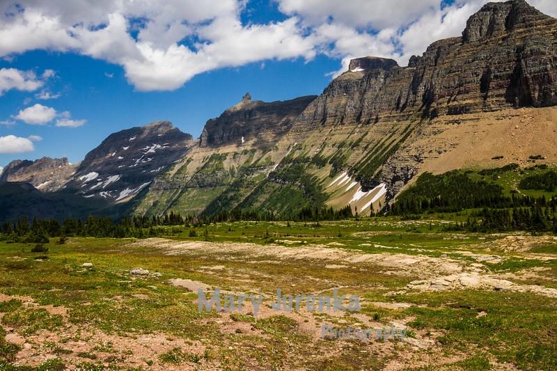 Logan Pass at Glacier National Park