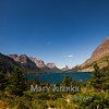 St. Mary Lake and Wild Goose Island
