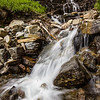This waterfall was a stop along the Going to the Sun Road in Glacier National Park.
