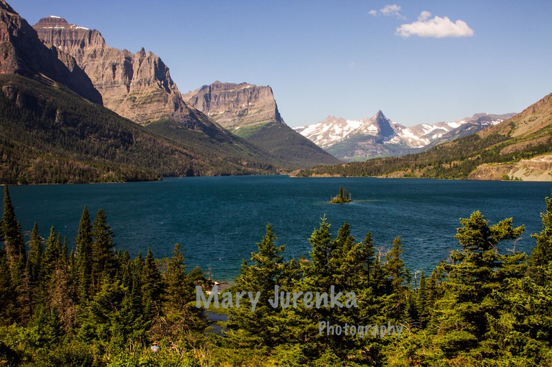 Saint Mary's Lake in Glacier National Park