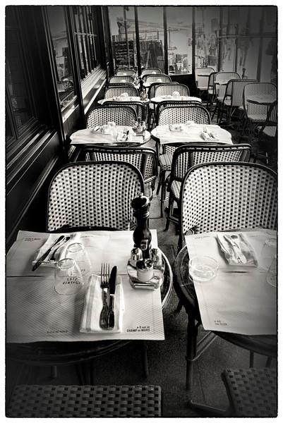 Café Central on Rue Cler