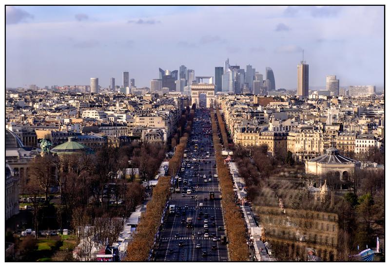 La Défense from the Grande Roue de Paris