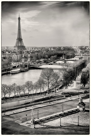The Seine from the Grande Roue de Paris