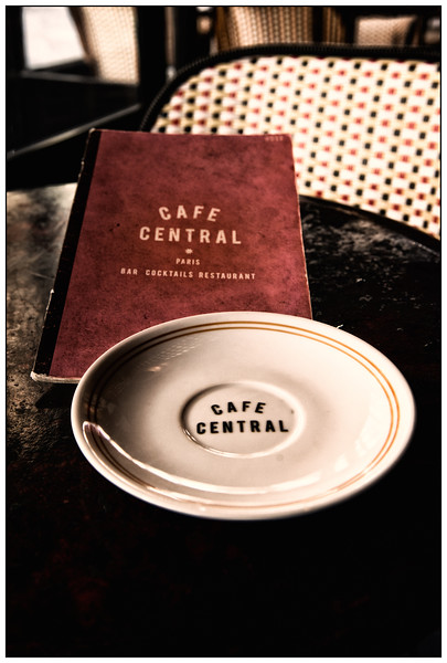 Café Central on Rue Cler