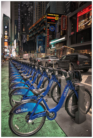Bikes on Broadway
