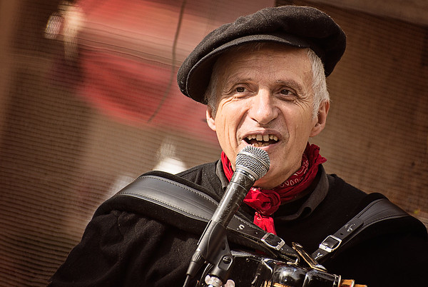 Musician on Rue Mouffetard