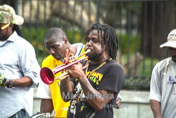 Brass Band at Jackson Square, March 2015