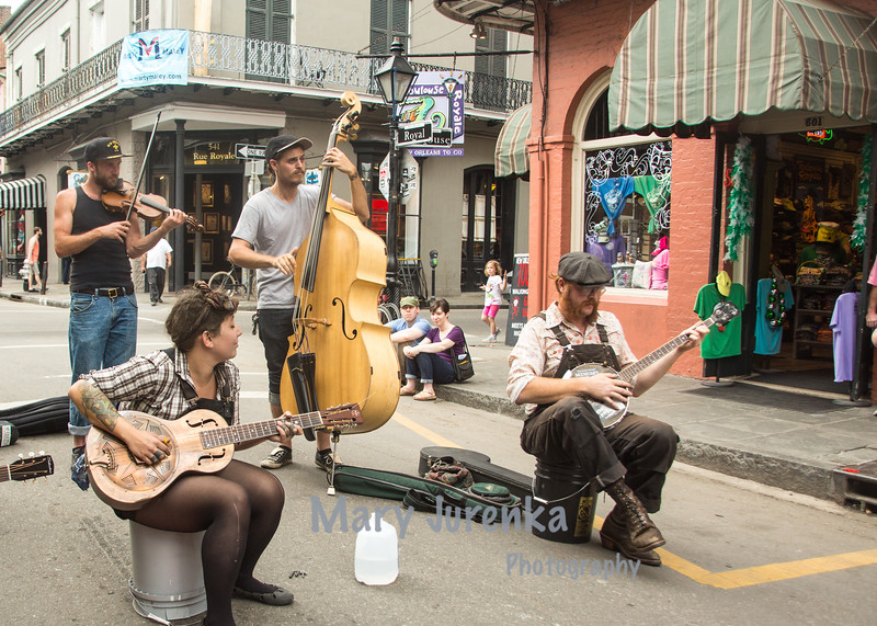 Music on Royal in New Orleans- March 2015