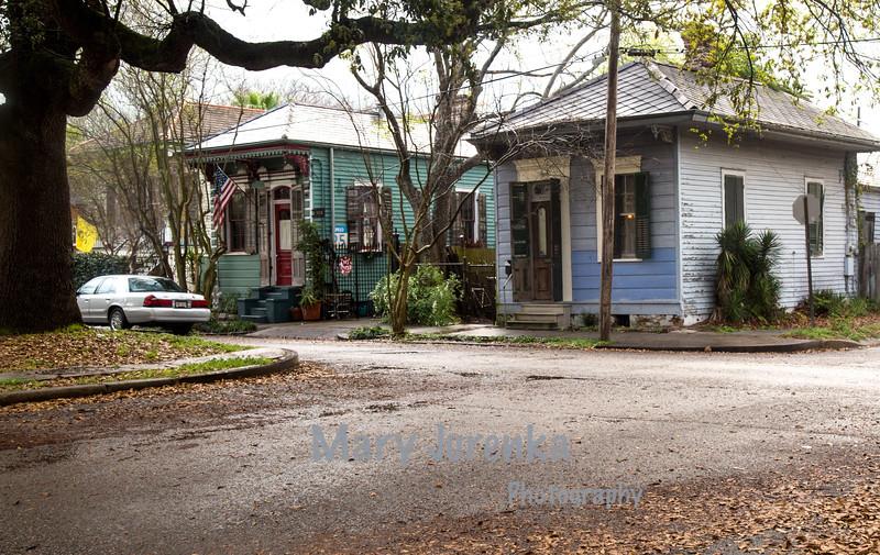 """""""Shotgun"""" Houses in New Orleans Bywaters Neighborhood"""