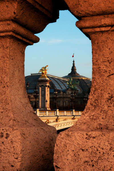 Another view of Le Grand Palais