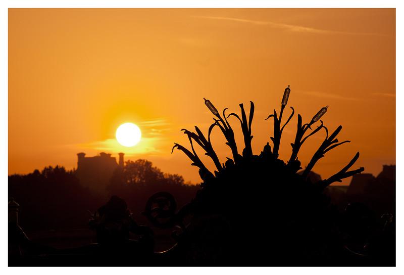 Sunrise from Pont Alexandre III