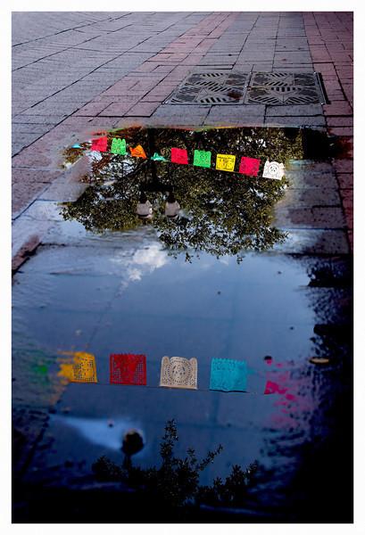Market Square reflection
