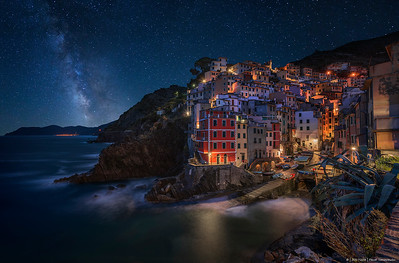 2017.103 - ItalyCT - Riomaggiore MilkyWay