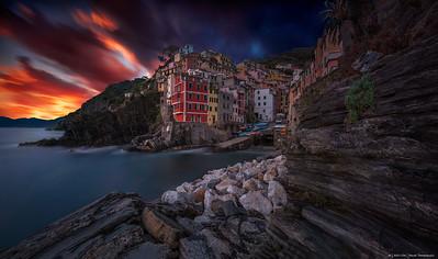 2017.24 - ItalyCT - Riomaggiore VII Sunset