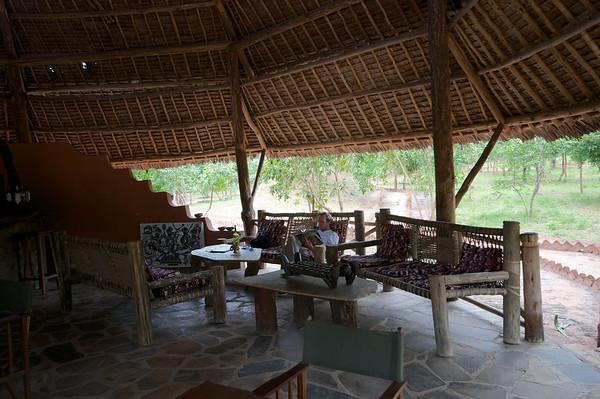 Angalia Tented Camp,Dining Area & Lounge