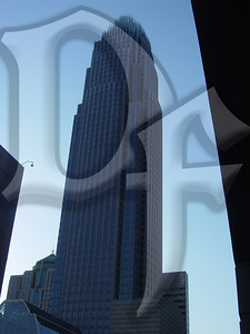 The Bank of America Corporate Center in Charlotte, NC.