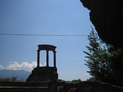 Pompeii and Mount Vesuvius 2007