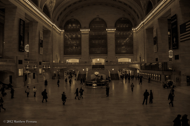 Grand Central Station - Movie Set - Russell Crowe Holiday Film