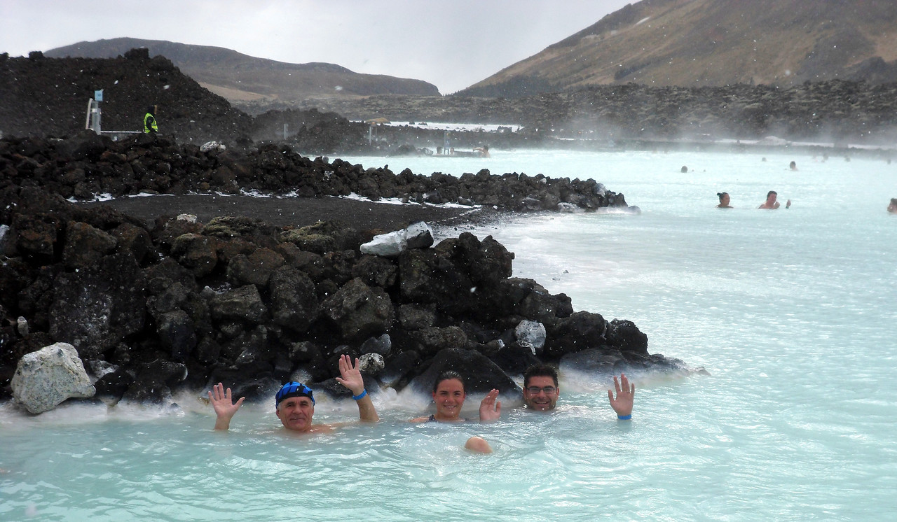 Made it to the Blue Lagoon