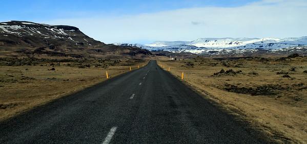 Busy Islandic highway :)