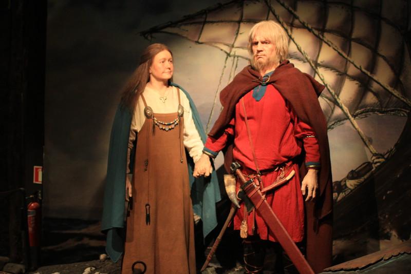 Inside the Viking Museum