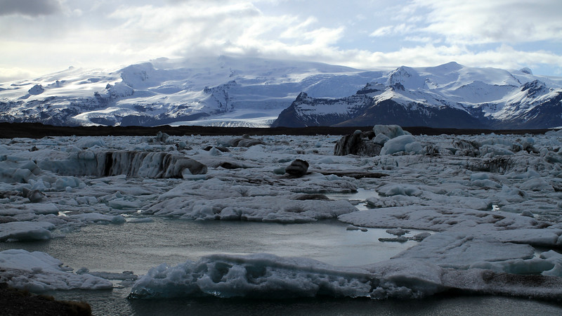 Made it to Glacial Lagoon - our turn around point