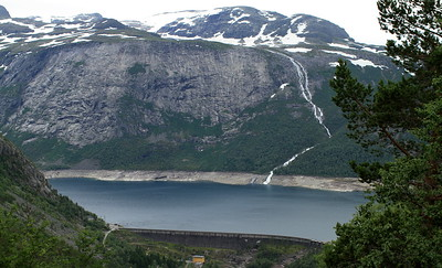 View of the dam