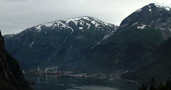 Eitrheim village across the fjord (not too sure)