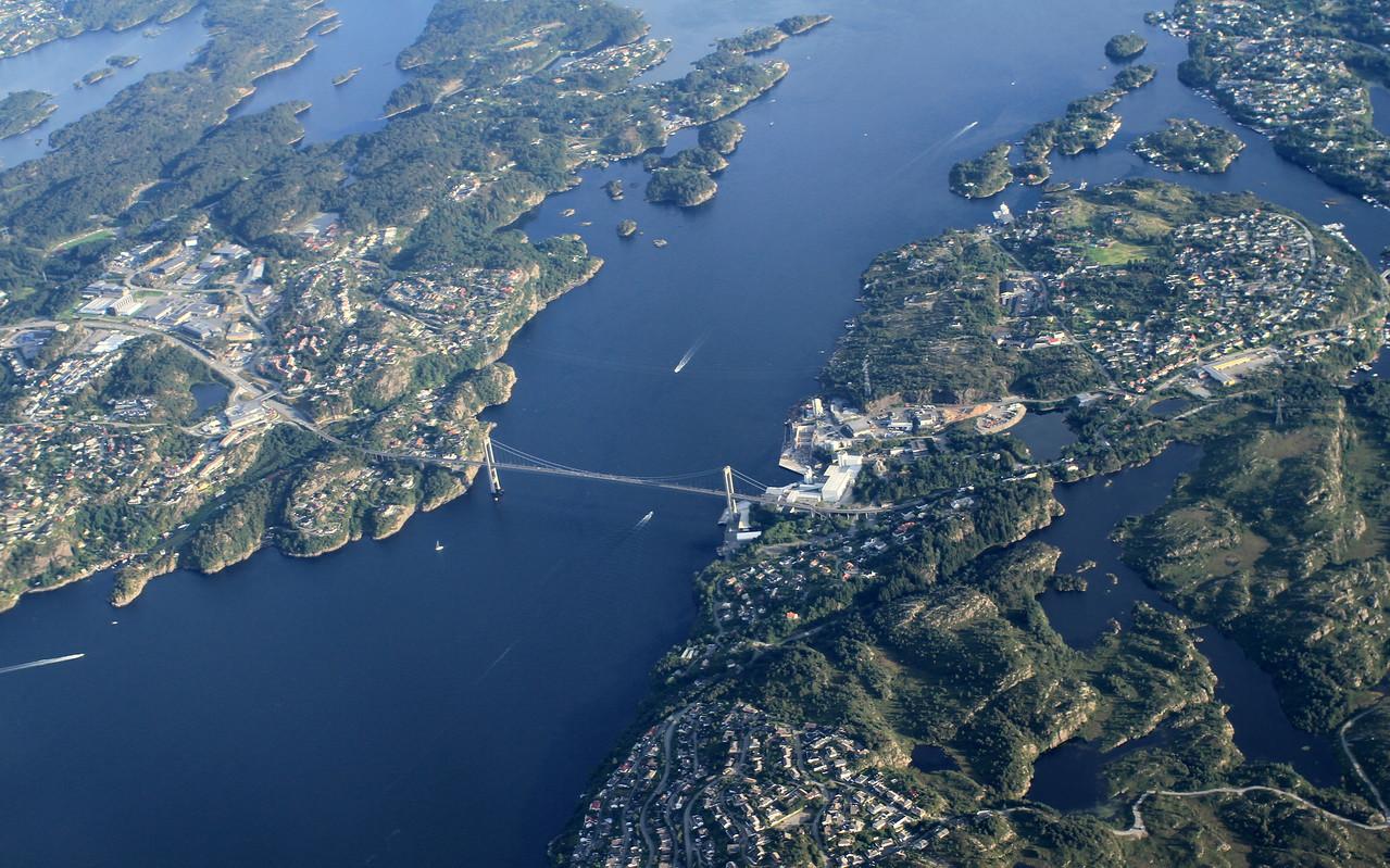 Leaving Norway