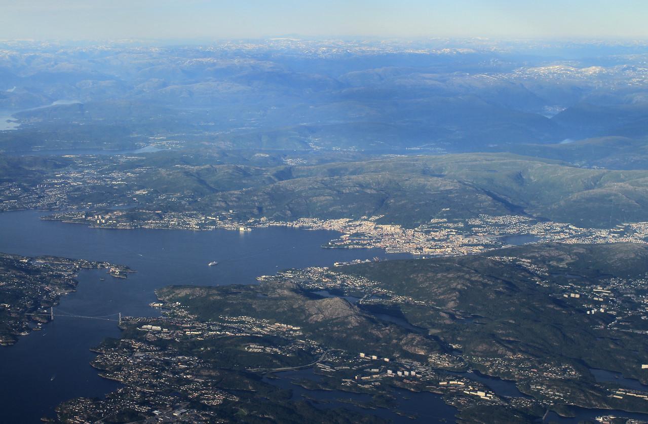 Last glimpse of Bergen