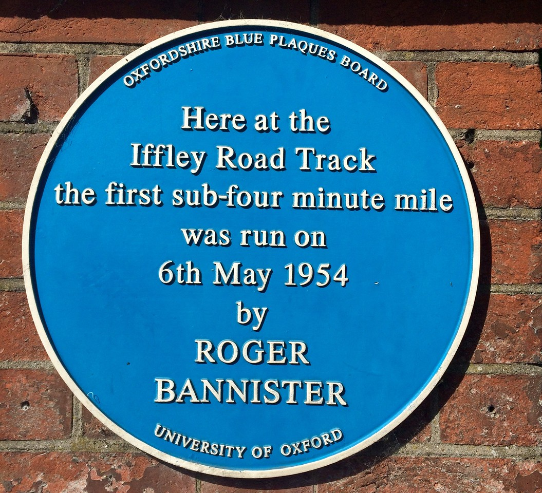 At the Roger Bannister Track