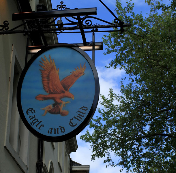 """""""Eagle and Child"""" where Tolkien liked to hang out"""