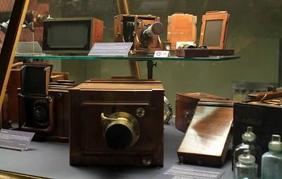 The first cameras