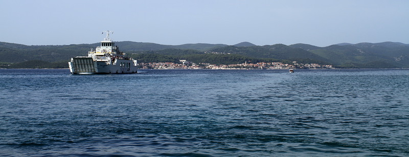 Ferry from Korčula