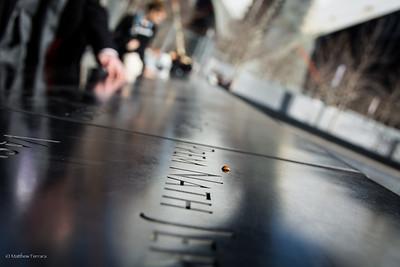 Renewal at the Reflecting Pool, World Trade Center, New York City
