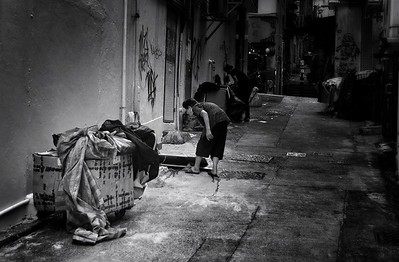 Back Streets of Hong Kong