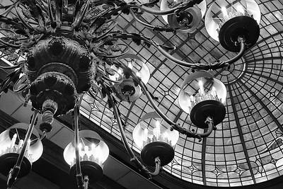 Chandelier, Madison Hotel