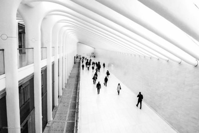 Path Station, World Trade Center, New York City