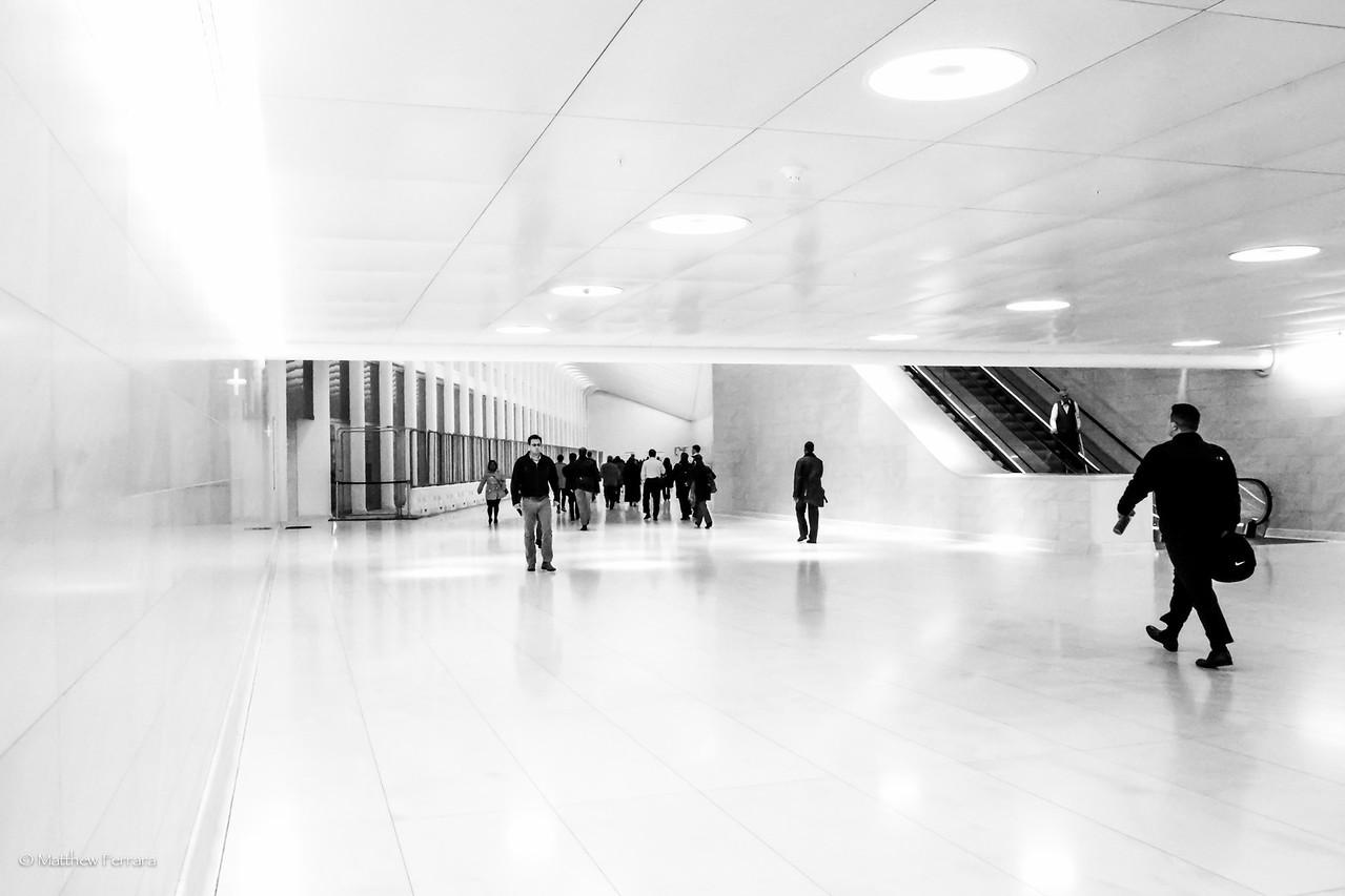 The Future, Path Station, World Trade Center, New York City