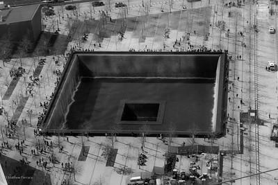 Reflecting Pool. World Trade Center, New York City