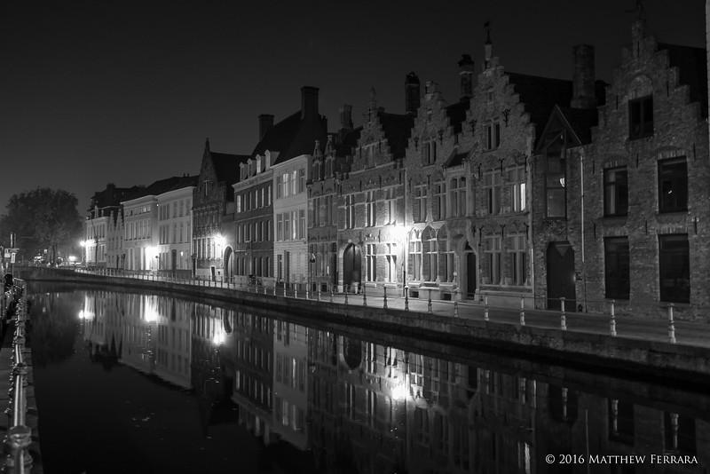 Mirror Canal, Brugge, Belgium