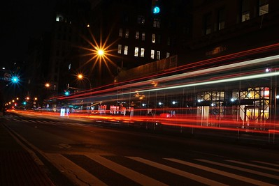 Bus Streak, Union Square, NYC