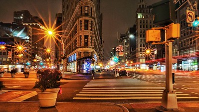 Traffic Lights, Union Square, New York City