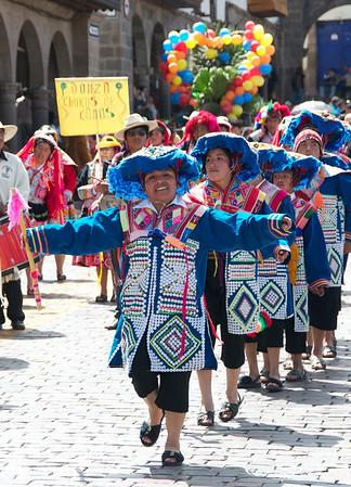 Cusco Labor Day Parade