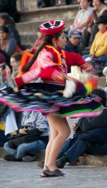 Dancing in the Streets, Cusco, Peru