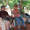 Vinales: Organic Farm; Gary, Norma & Tres taking a break!